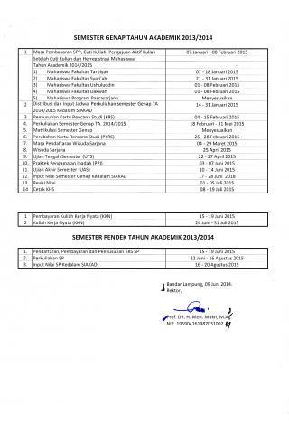 Kalender Gazal 2014